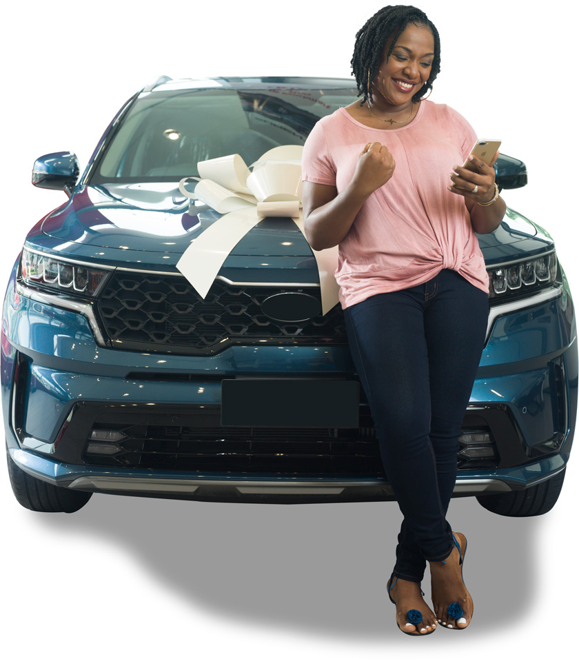 New car with comprehensive insurance