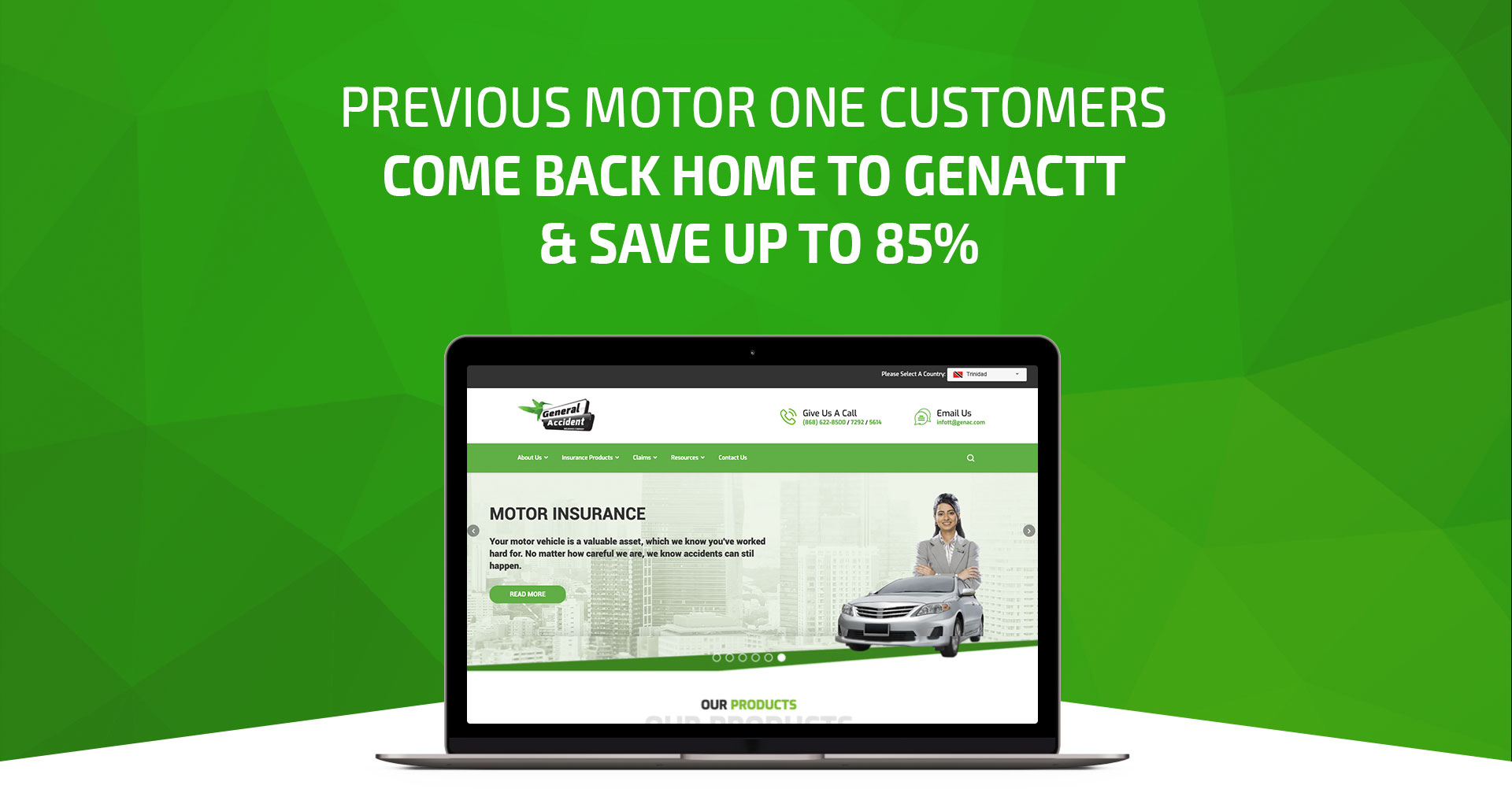 Previous motor one customers come back home to GenacTT